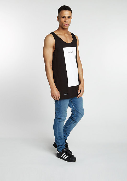 Cayler & Sons Tanktop Très Slick Long black/white