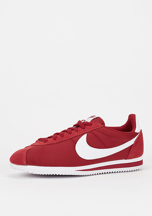 NIKE Classic Cortez Nylon gym red/white