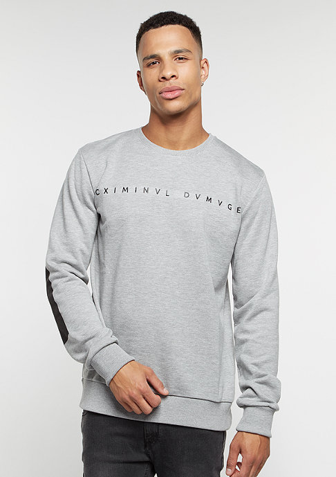 Criminal Damage Sweatshirt Gala grey