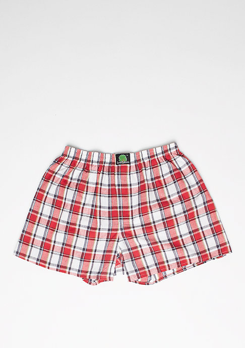 Treesome Boxershort Plaid red/white/blue