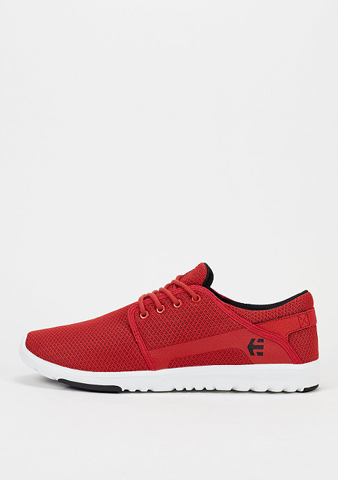 Etnies Skateschoen Scout red/white/black