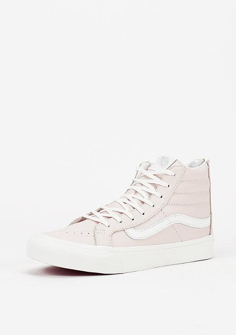 VANS Schuh Sk8-Hi Slim Zip Leather whispering pink/blanc de blanc