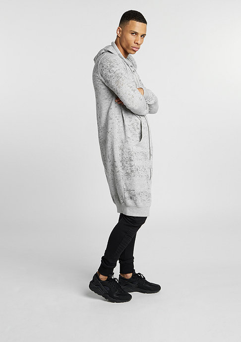 Black Kaviar Hooded-Vest Gilsen grey marl