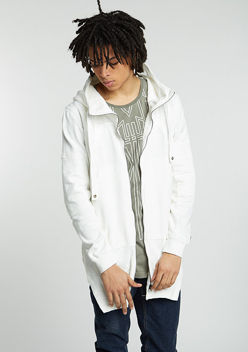 Black Kaviar Hooded-Sweatshirt Grayslak offwhite