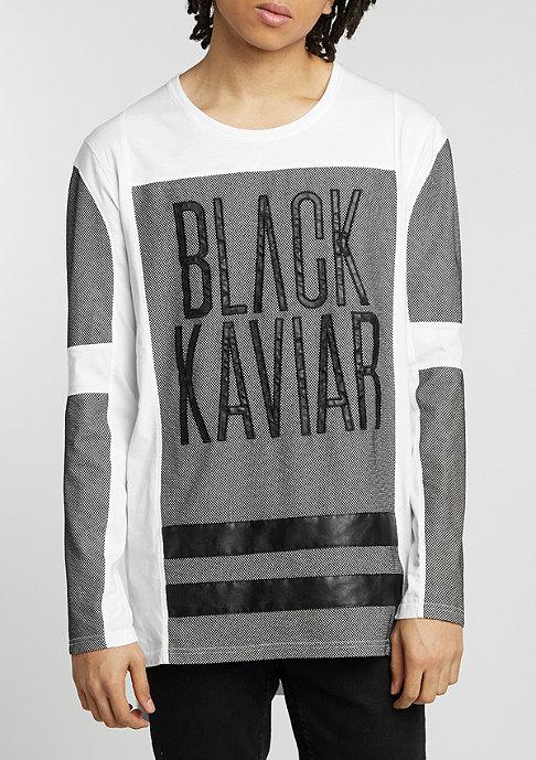 Black Kaviar Longsleeve Greysham white