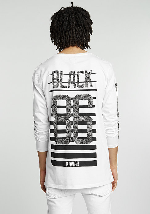 Black Kaviar T-Shirt Gatwik white
