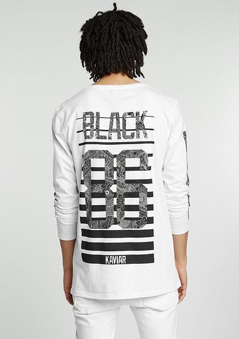 Black Kaviar Longsleeve Gatwik white