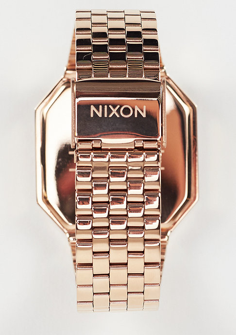 Nixon Klok Re-Run all rose gold