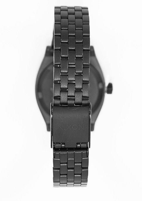 Nixon Horloge Small Time Teller all black/rose gold