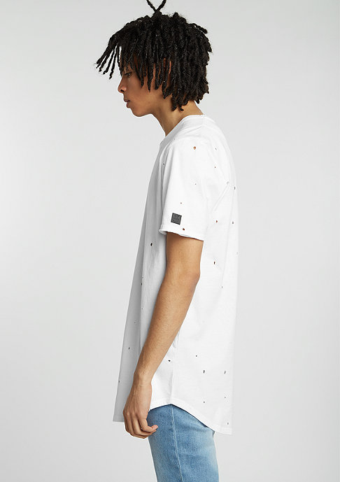 Black Kaviar T-Shirt Glazgo white