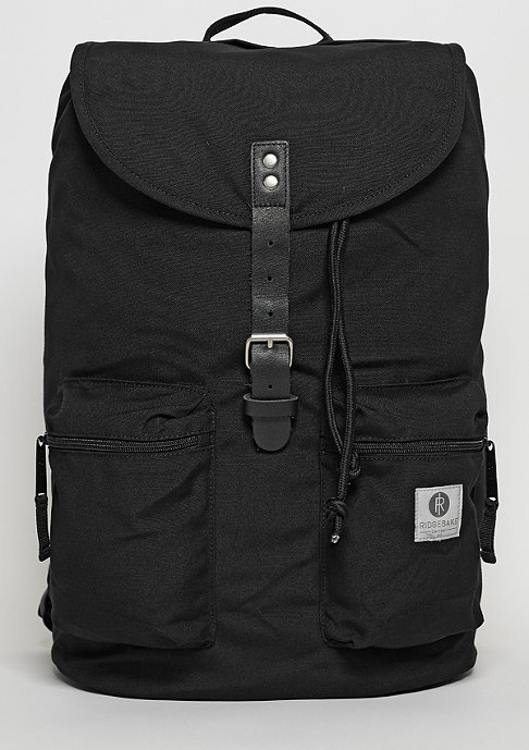 Ridgebake Rucksack Kay black/black leather