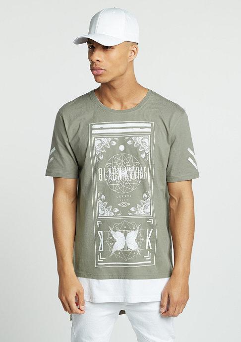 Black Kaviar T-Shirt Gream kaki