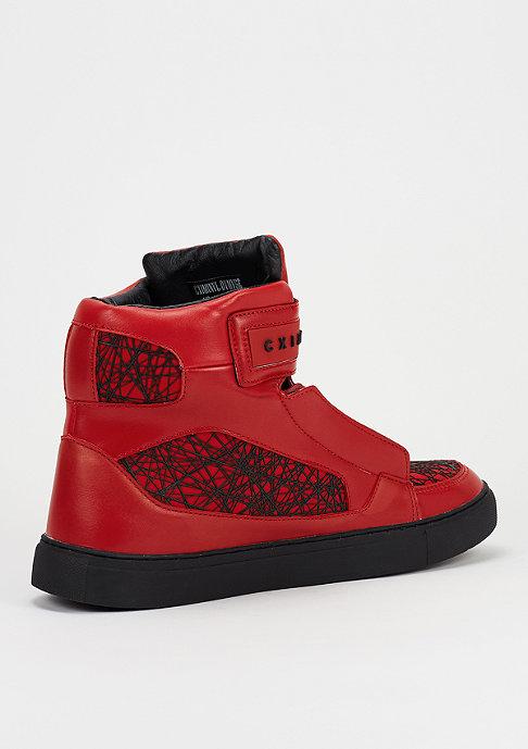 Criminal Damage Schuh Atlantis red