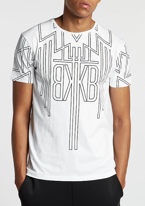 Black Kaviar T-Shirt Gawboy white