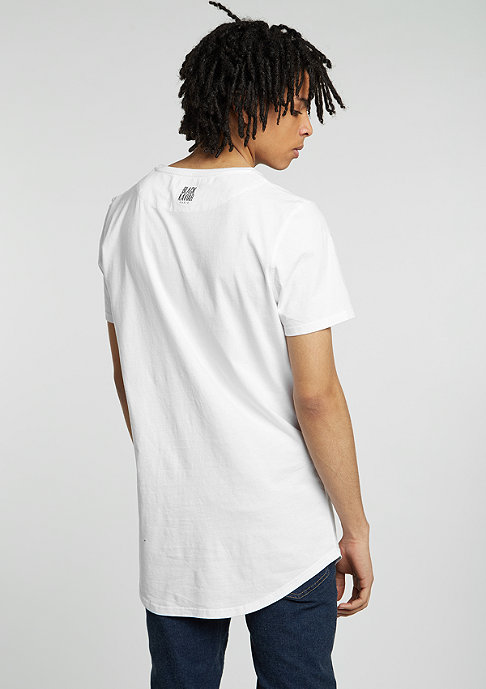 Black Kaviar T-Shirt Shelix white