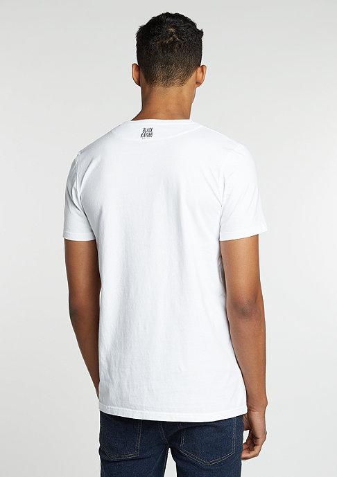 Black Kaviar T-Shirt Glabek white