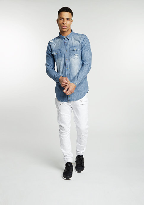 Black Kaviar Jeans Garkan white