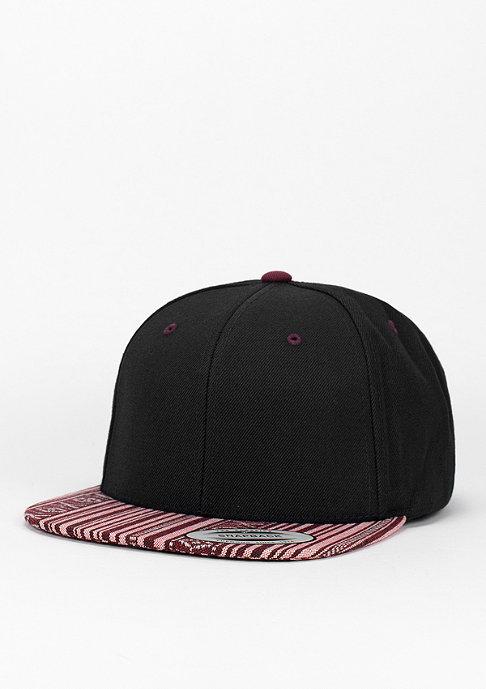 Flexfit Snapback-Cap Aztec black/red