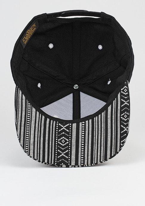 Mister Tee Snapback-Cap Aztec black/white