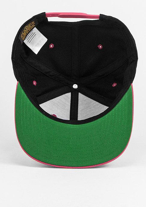 Flexfit Snapback-Cap Classic 2-Tone black/neonpink