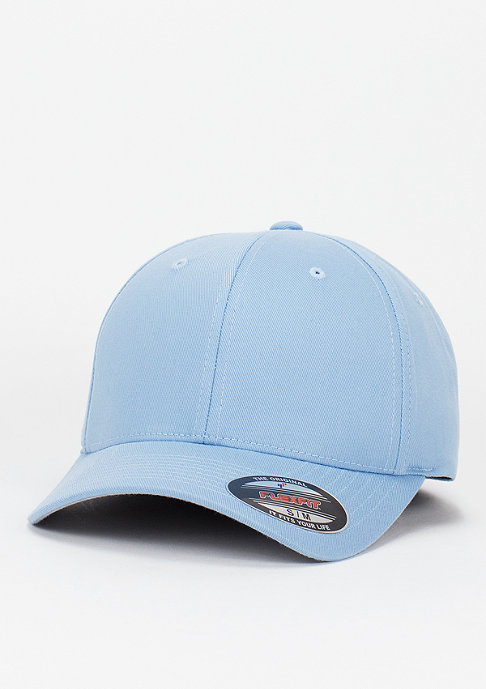 Flexfit Baseball-Cap Wooly Combed carolina blue