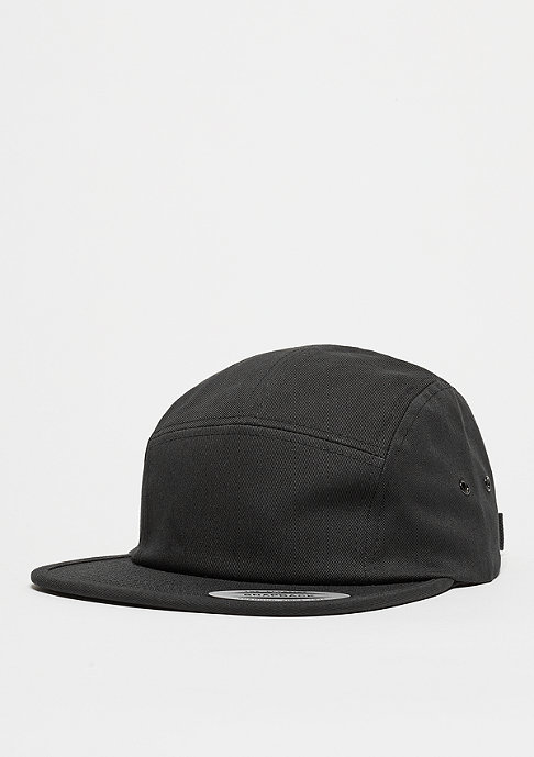 Flexfit 5-Panel-Cap Classic Jockey black