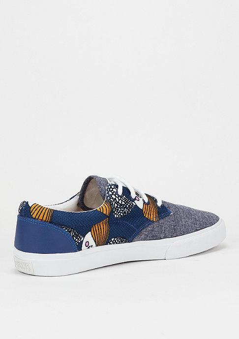 Djinn's Schoen Nice CP Birds & Tissu blue
