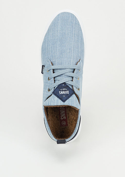 Djinn's Schoen LowLau 2.0 Denim 3.0 light indigo/navy
