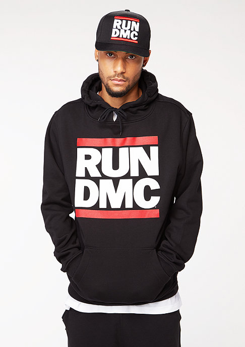 Artist by Mister Tee Hooded-Sweatshirt Run DMC Logo black