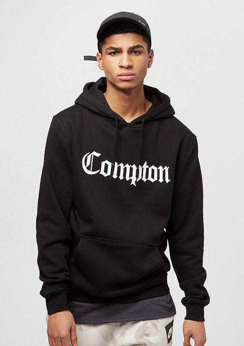 artist by mister tee hooded sweatshirt compton black bei. Black Bedroom Furniture Sets. Home Design Ideas