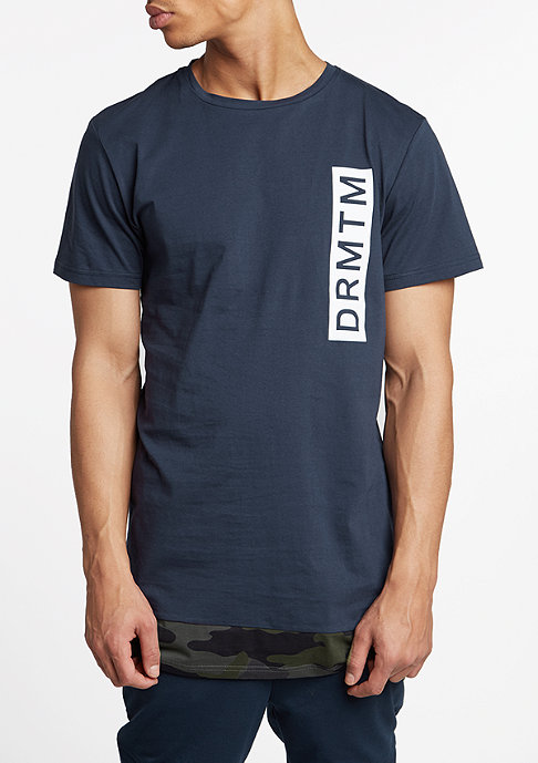 DRMTM T-Shirt Trans navy/camouflage