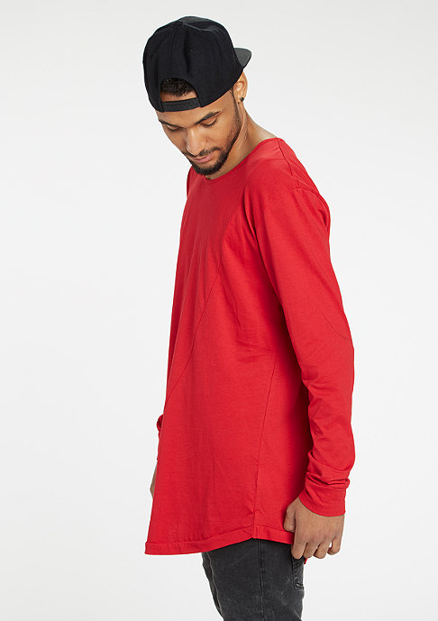 Urban Classics Long Back Shaped Fashion fire red