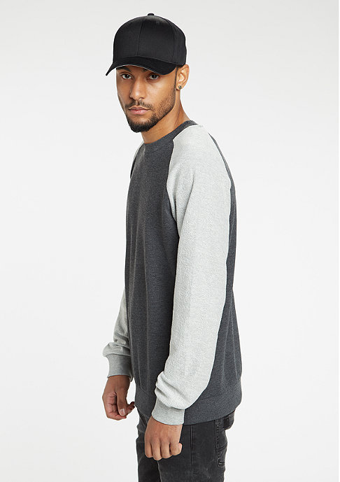 Urban Classics Sweatshirt Inside Out Terry charcoal/grey
