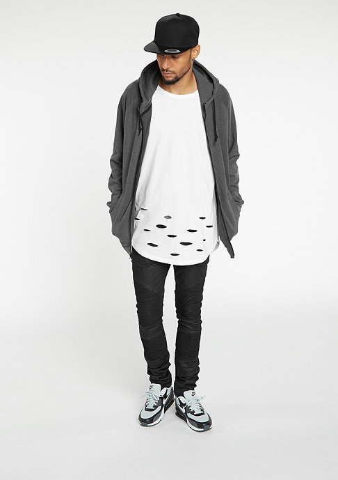 Urban Classics Heavy Interlock Raglan charcoal