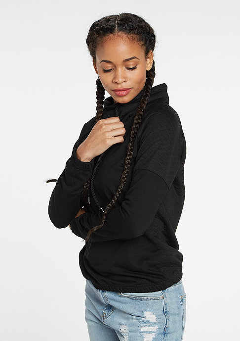 Urban Classics Quilt High Neck black