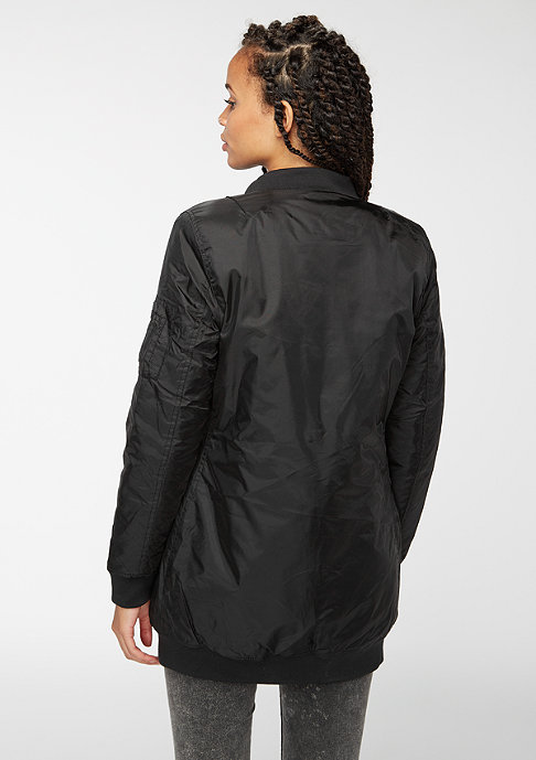 Urban Classics Jacke Long Bomber black