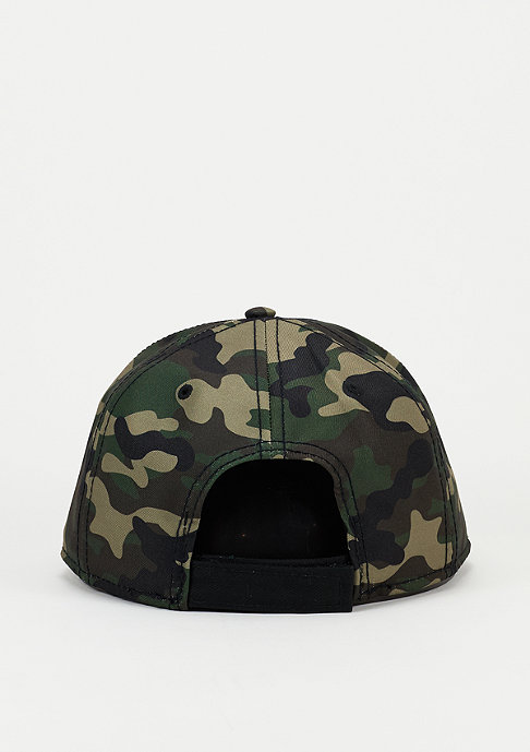Cayler & Sons Snapback-Cap BL Curved Cap Legend woodland/black/off-white