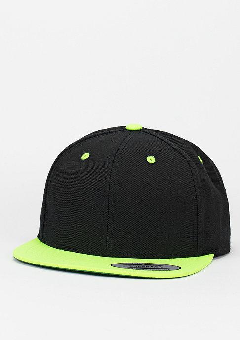 Flexfit Snapback-Cap Classic 2-Tone black/neonyellow