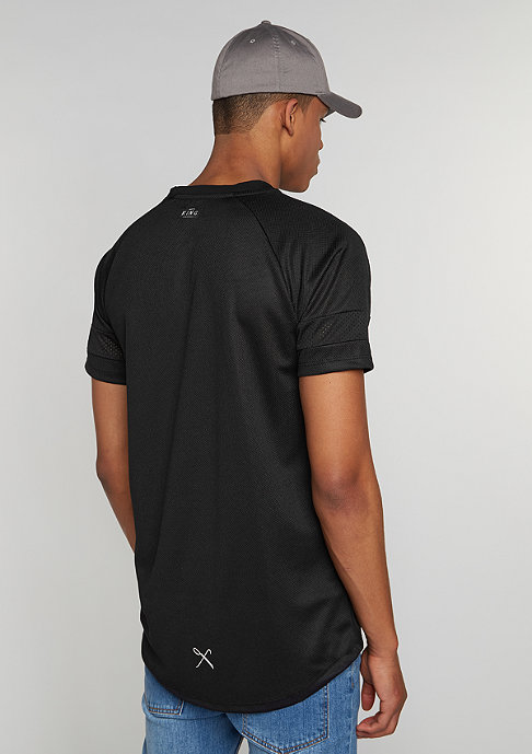 King Apparel The Perf Longline black
