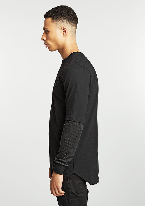 King Apparel Longsleeve The Perf Longline black