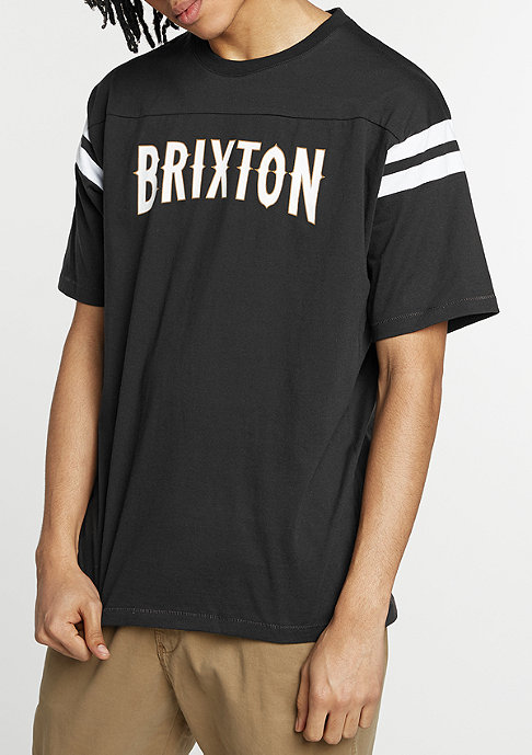 Brixton T-Shirt Benson black/white