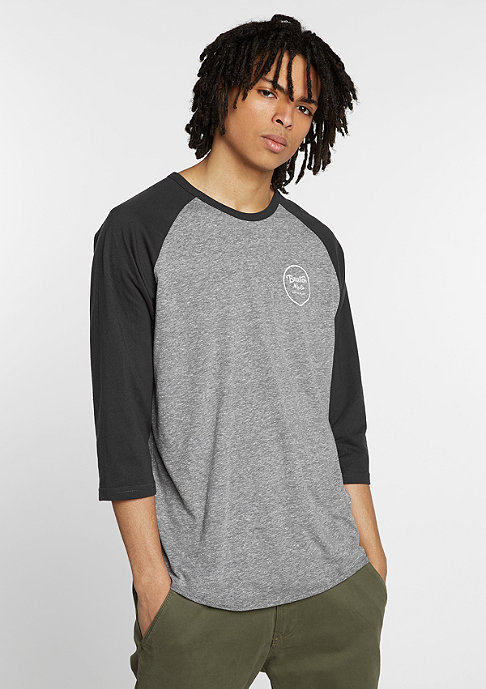 Brixton Wheeler 3/4 heather grey/washed black