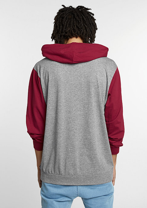 Brixton Ramsey heather grey/burgundy