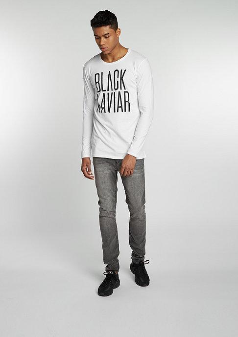 Black Kaviar Longsleeve Sarford white