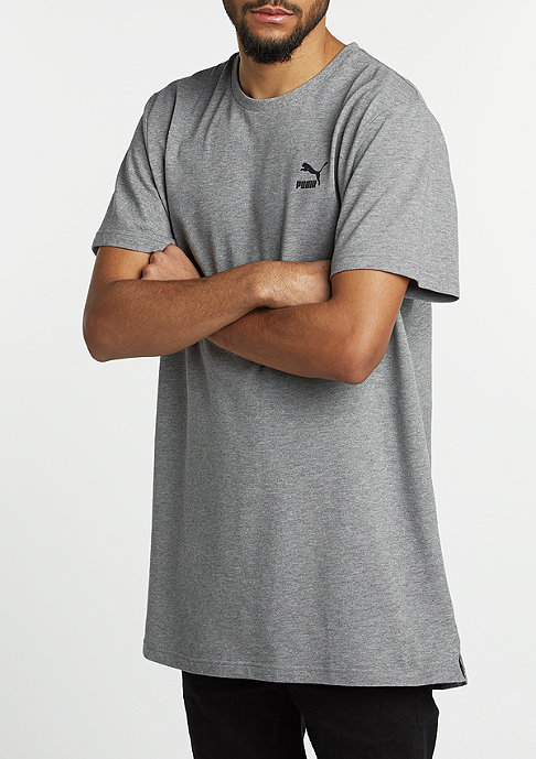 Puma T-Shirt Evo Football Long medium grey heather