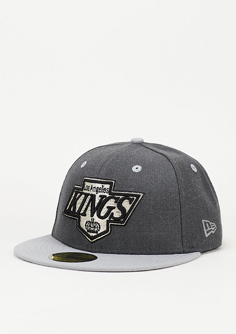 New Era Fitted-Cap Heather Top NHL Los Angeles Kings official team colour