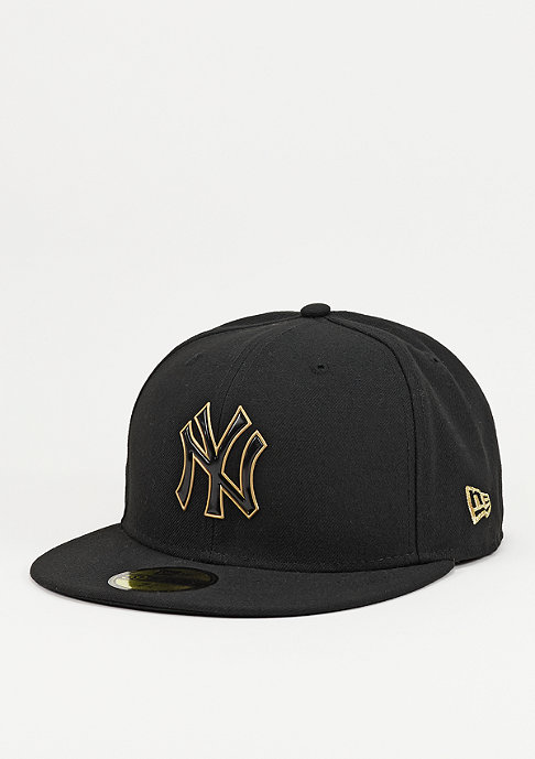 New Era Fitted-Cap Team Weld MLB New York Yankees black/gold