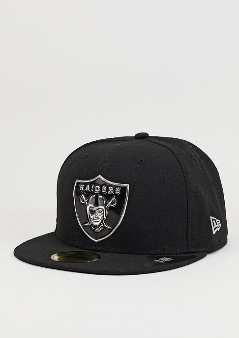 New Era Fitted-Cap Team Weld NFL Oakland Raiders official team colour