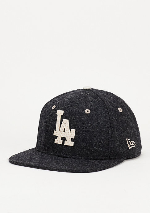 New Era Snapback-cap Felt Wool Snap MLB Los Angeles Dodgers black