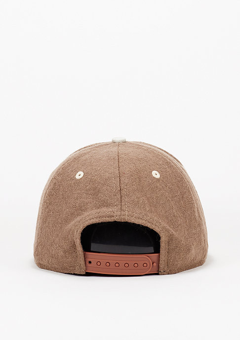 New Era Snapback-Cap Felt Wool Snap MLB New York rust